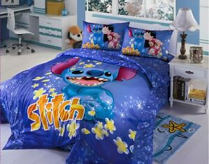 lilo and stitch bedroom new 2017 disney lilo stitch bedding set 4pc king bed 15904