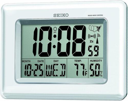 Seiko QHR020WLH Advanced Technology R-Wave Desk Clock