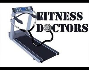 Treadmill service assembly and repair.  Elliptical and fitness