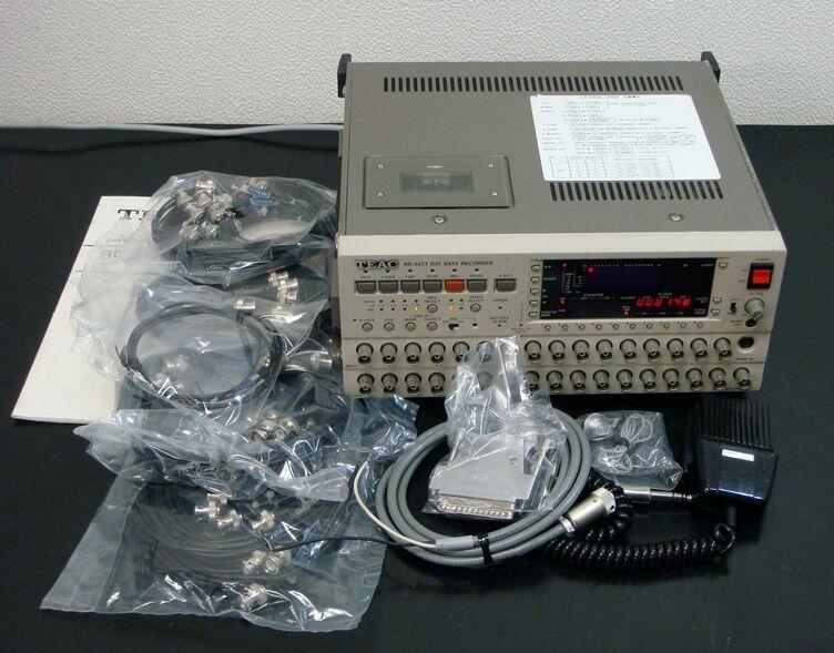 TEAC RD-145T 16ch 16bit DAT Data Recorder