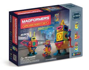 Magformers 45-pc Walking Robot Set