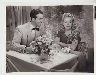 John Payne and Alice Faye Vintage Movie Still