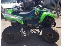 2005 05 kawasaki kfx 700 cc auto automatic road legal quad bike