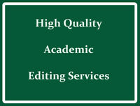 Academic Editor & Scientific Writing Coach
