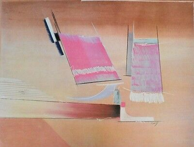 Kamy Delyou Giochi di strutture II Poster Bild Kunstdruck 60x80cm