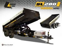 Dump trailer rentals, excavators and skidsteers
