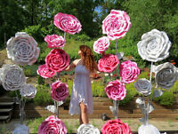 Party Decoration - Giant Standing Flowers for rent