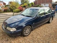 Volvo S70 2.5L V6 Auto. Loads of history, fully loaded spec, personal reg included!