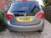 Vauxhall Meriva 1.7cdti SE (130PS)