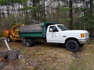 dump truck great for landscapers