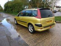 2003 Peugeot 206 SW 2.0 HDI 90 D Turbo Estate Car *12 Months MOT* FULL SERVICE HISTORY!!