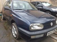 Automatic drive VW Golf, Left Hand Drive, 1 Owner from New!