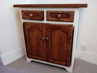 Solid Oak Vintage Sideboard