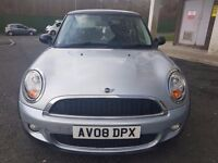 mini cooper D 2008 silver diesel manual 20 pounds road tax for 1 yrear cheap!