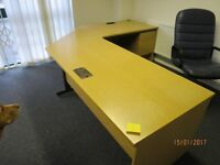 OFFICE FURNITURE - CLOSING DOWN SALE
