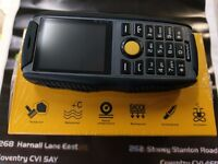 """SONIKA R1 - DURABLE """"BUILDERS"""" PHONE - UNLOCKED TO ALL NETWORKS - BRAND NEW"""