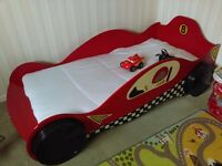 Car racing bed - with mattress
