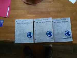 Ford Escape Shop Manuals 2001 - 2007