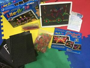 Lite Brite Classic - with refill sheets and light-up LOOPS too!