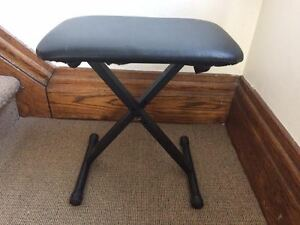Keyboard seat-bench - folding and adjustable-brand new condition