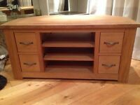 Next Oak Cambridge TV Unit
