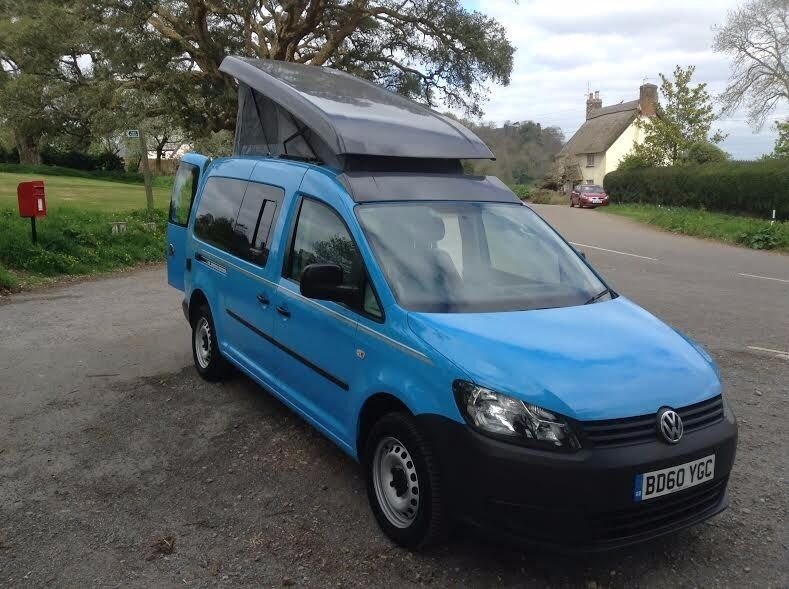 vw caddy maxi camper van must be seen in dawlish. Black Bedroom Furniture Sets. Home Design Ideas