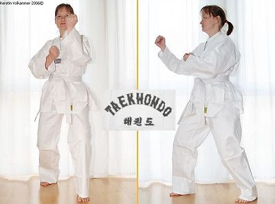 Taekwondoanzug, Taekwondo-Anzug, Dobok mit Rückenaufdruck Größe wählbar, Mod. 15