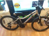 """Apollo 24"""" Wheels suit age 8 to 10yrs, alloy frame, grip shift 18 speed bike girls"""