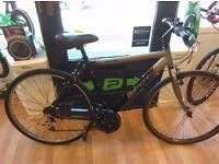 "Apollo Belmont hybrid bike 19"" frame, 700c wheels, new rear hybrid tyre just fitted"