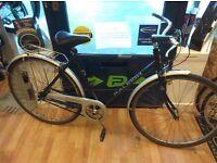 """Raleigh Pioneer Chiltern Hybrid mens 18"""" Frame sturmey archer 3 speed, great condition bike"""