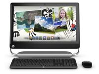 HP 23 inch Touch Screen PC, beats audio, Win 10 & MS office, Wireless keyboard and mouse. looks new