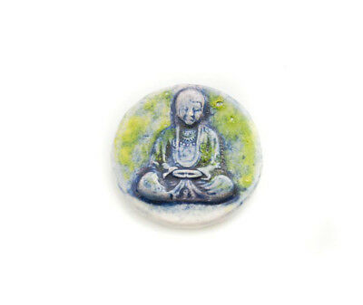 Pendant Of Buddha Position Lotus Ceramic Buddha Creation Craft