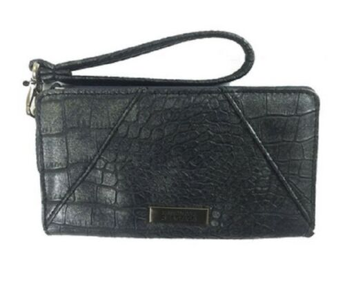 Kenneth Cole Reaction Must Haves Pda Women Wallet Black Msrp $38.00