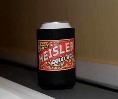 Heisler TV Beer 12oz Can or Bottle Koozie, Neoprene, TV Beer Item