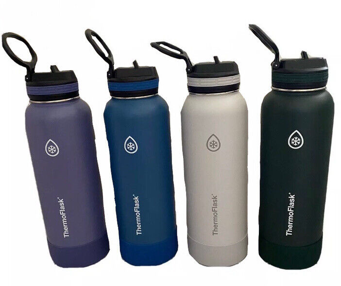 ThermoFlask 40oz Insulated Stainless Steel  Bottle in Purple, Blue, Grey, Green