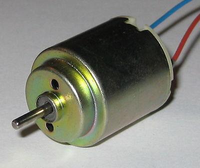 8,100 RPM Mabuchi RF-130 Small Appliance DC Motor RF-130CH-12250 6 VDC