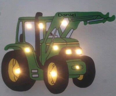 LED Schlummerlicht Nachtlicht Wandlampe Traktor Trecker ()