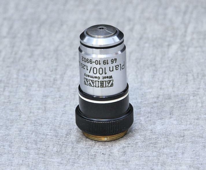 Zeiss Plan 100x /1.25 Oel 160/-  46 19 10-9902 Microscope Objective