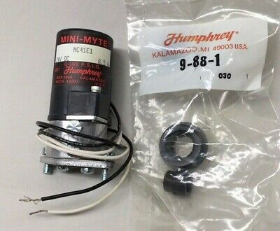 Humphrey Mc41e1 Mini Myte Solenoid Valve 24v Dc 8.5w With Mounting Grommets