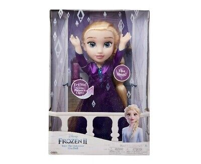 """Frozen 2 Disney 15"""" Elsa Musical Doll Sings """"Into The Unknown"""" & Says 14 Phrases"""