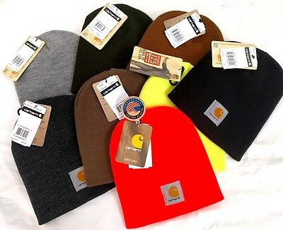 Carhartt A205 Acrylic Knit Beanie cap  [C2-205] Free ship in US Acrylic Knit Beanie Cap