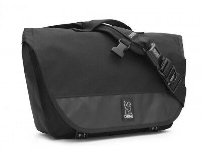 6cd524ba7fff Chrome Mini Buran Unisex Biker Cyclist Black Messenger Bike Backpack  Bicycle Bag