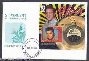 CANOUAN-2012-ELVIS-PRESLEY-BURNING-LOVE-CLASSIC-HITS-SOUVENIR-SHEET-FDC