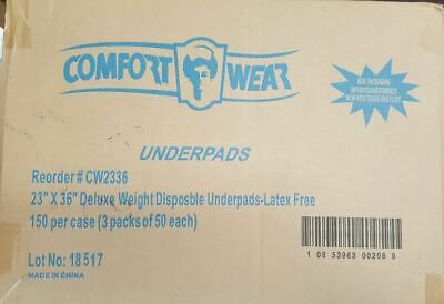- Comfort Wear Disposable Absorbent Underpads 23