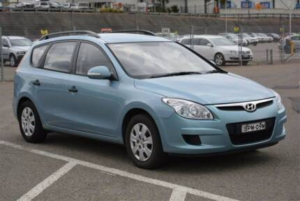 2010 Hyundai i30cw sport wagon Granville Parramatta Area Preview