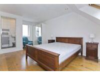 En-suite double bedroom in lovely house with garden