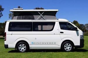 Toyota Hiace Automatic Discoverer Campervan with Solar & Shower Albion Park Rail Shellharbour Area Preview