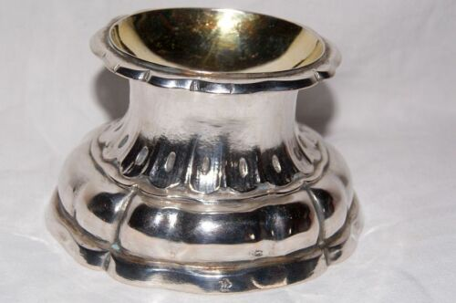 Superb Baroque / 18th Century Silver Salt / Spice - Bowl, est.~ 1720, Augsburg ?