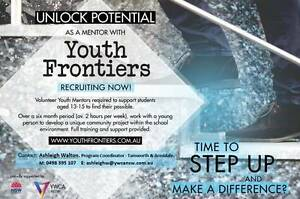 Youth Frontiers Volunteer Mentoring Tamworth Tamworth City Preview