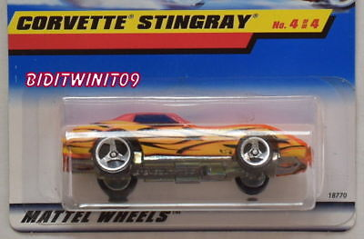 Hot Wheels 1998 Tattoomaschinen Corvette Stingray #688 (Hot Wheels Tattoos)